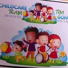 Illustration for the #bridgend Childcare Team #ugdwork #graphicdesign #illustration #design