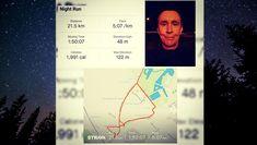 Reggel 3 órai ébredés.....motivációs , sérülés utáni első 21,5km-es kiruccanás. Gyerekek nagyon jól esett :) . After 3am. 21,5km motivational running. . . #running #runningman #runninginspiration #workout #futás #inspiráció #21k #halfmaraton #félmaraton #egészség #health #dxn #cordyceps #runninginspiration #hungary
