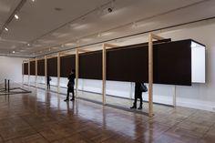 "Cadaval & Solà-Morales, allestimento al Museo Casa de la Moneda per la mostra ""Susana Solano Trazos Colgados"", Madrid 2013"