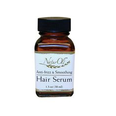 NaturOli 100% Natural Hair Serum - Anti-Frizz, Smoothing Detangler - W/ Argan Oil (1.3oz) ** Want to know more, click on the image.