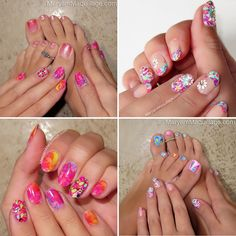 The design can also be used as toe nail designs. Description from midweek.info. I searched for this on bing.com/images