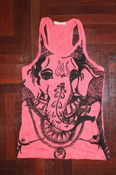 Women's T shirt Hamsa Hand Yoga Clothing Buddha Ganesha T-shirt Boho tank top Om. $12.49, via Etsy.