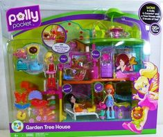 Save $20.00 on Polly Pocket Garden Tree House Playset 35+ Pieces Included; only $29.99