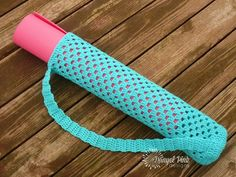 Danyel Pink Designs: CROCHET PATTERN - Yoga Mat Tote Bag