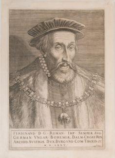 Kolunić Rota, Martin. Ferdinand / gravirao Mar[tin]us Rota Kolunić. Beč, 1575. Grafička zbirka NSK.