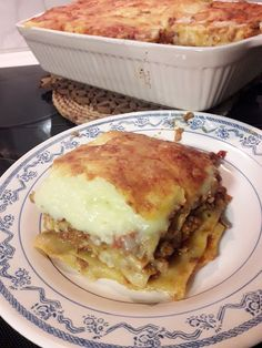 Lasagna, Ethnic Recipes, Food Network, Drinks, Kitchen, House, Ideas, Drinking, Beverages