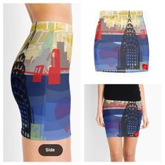 "E.S.Y. Int'l NYC Girls"" pencil skirt www.stlzre.com"