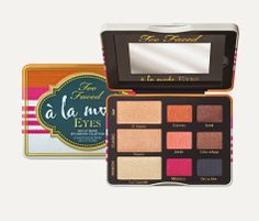 "BlablaEntreFillesByCathy: News beauté #5 : Palette ""A la mode"" by Too Faced ..."