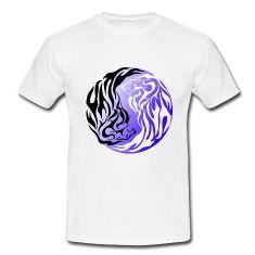 Tiger's Yin et yangT-shirts.