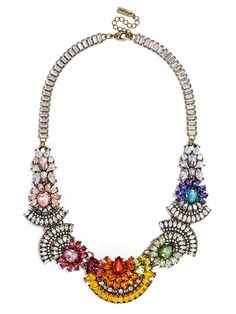 Jewelry - Rainbow Frank Collar $68   Earn Cashback when you shop at BaubleBar.com! Sign up with DubLi for FREE at www.downrightdealz.net and GET PAID for all your online shopping!