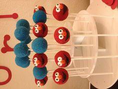 Elmo cake pops facebook.com/ferniespops
