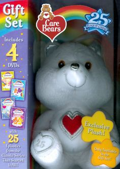 care bears 25th anniversary 4 discs
