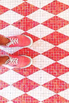"""We have a thing for diamonds! @wallasantiago #ihavethisthingwithfloors"""""""