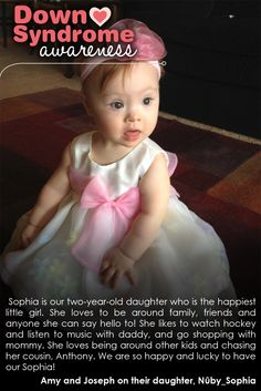 Sophie; Peace, Love & Down Syndrome @National Down Syndrome Society