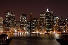 World Most Popular Places: New York City At Night