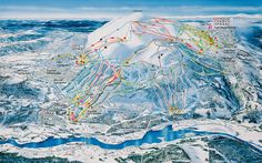 An expert guide to Trysil resort, including practical information on hotels, restaurants and pistes