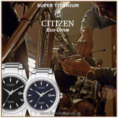 Citizen horloges Eco Drive Super Titanium Herenhorloge. zwart: #BM7360-82E blauw: #BM7360-82L #citizen #citizenwatch #watches #horloges #supertitanium