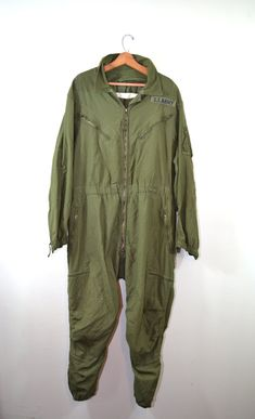 Vintage Jumpsuit Coveralls US Army Coveralls by founditinatlanta