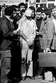 1979: Fifty-two Americans are taken hostage November 4 and held for 444 days until January 20, 1981, after a group of Iranian students supporting the Iranian Revolution take over the US Embassy in Tehran. Hostage Barry Rosen.
