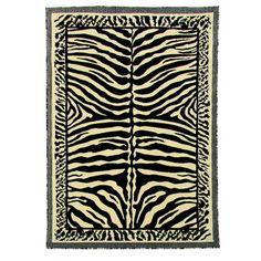 Kingdom Design 142 Beige Color Animal Skin Print Design Area Rug (5' x 7')