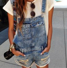 Overall shorties