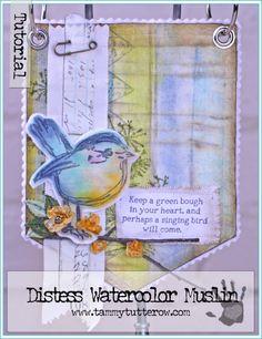 Tammy Tutterow | Singing Bird Art Banner Tutorial