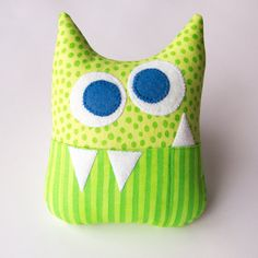 Hey, I found this really awesome Etsy listing at http://www.etsy.com/listing/126203928/tooth-fairy-pillow-personalized-monster