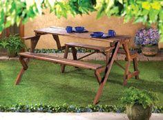 Convertible Garden Table Free Shipping