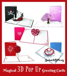 Magical 3D Pop Up Greeting Cards