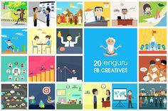 Creatives for enguru app - Best Spoken english App | DEVBEZ