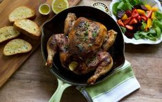 Ground Staghorn Sumac Berries and Thyme Roast Chicken © aidamollenkamp.com