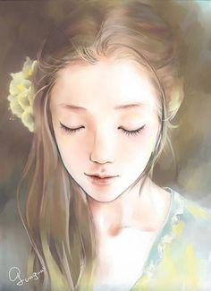 girl illustration art anime