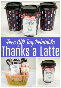 Time moves fast. Having an on-the-go lifestyle can make it challenging to stop time to enjoy the things that matter most. For me those things are family, gratitude and coffee! #ad I combined my love of coffee and gratitude to create a Thanks a Latte Gift Basket with Chinet Comfort Cup insulated hot cups for my daughter's teachers, who I consider a part of our family. The basket features coffee treats and the stylish and durable Chinet Comfort Cup insulated hot cups. @MyChinet…