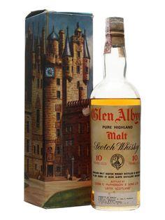 Glen Albyn 10 Year Old - Bot.1970s Scotch Whisky : The Whisky Exchange