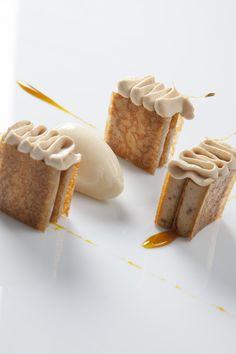 Fancy Desserts, Köstliche Desserts, Plated Desserts, Delicious Desserts, Elegante Desserts, Grolet, Modernist Cuisine, French Patisserie, Food Obsession