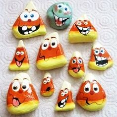 Rock Painting Designs for Gifts and Home Decorations, Halloween Ideas – Halloween Ideas – Grandcrafter – DIY Christmas Ideas ♥ Homes Decoration Ideas