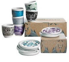 The exclusive fusion collector's items tableware come in a gift box with 6 designs. Each piece illustrates a unique origami fold of an animal and the cups show the 3-dimensional animal inside http://www.boconcept.com/en-gb/campaign/campaign/fusion/fusion-accessories