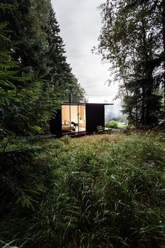 | Galerie How To Build A Log Cabin, Sweet Home, House In Nature, Forest House, Tiny House Design, Behance, Cabins In The Woods, Freundlich, Rustic Design