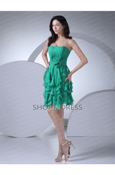 fb1bf02aa2 Straight Neckline Natural Knee Length A-line Prom Dress Cheap Bridesmaid  Dresses Online