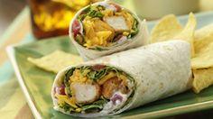 ReadySetEat - Spicy Crunchy Chicken Wraps - Recipes