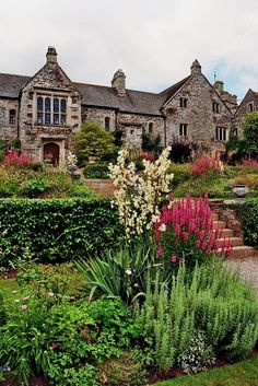 "Cornwall Gardens: Cotehele House & Gardens... Saltash, Cornwall...Susanna Kearsley's ""The Rose Garden"""