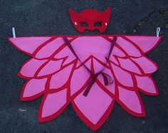 New Sizes added! Kids & Adult Cape Wings and Mask - Different sizes available - Owlette Costume by kountrydelites on Etsy https://www.etsy.com/listing/269429662/new-sizes-added-kids-adult-cape-wings