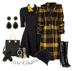 Burberry Plaid Coat by mrskrodd on Polyvore featuring Pinko, Burberry, Sergio Rossi, Sophie Hulme, La Mer, Charlotte Russe, Suzanne Bettley, plaid, coat and wool