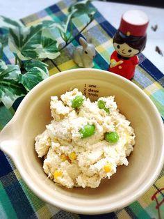 おからDEポテトサラダ風〜子どもがめっちゃおからを食べますよ〜 稲垣飛鳥のあすかふぇのおいしい毎日っ♪