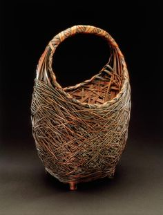 Flower basket, Japan, 19th-20th century, Fowler Museum at UCLA.