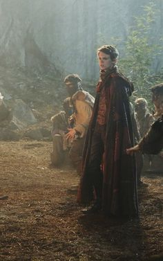 """Robbie Kay as Peter Pan from the TV Show """"Once Upon A Time""""."""