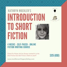 In this self-directed text-based online course, you'll be given writing prompts, tips, resources, and readings as you are guided through the process of idea generation, drafting, and revising a short story between 1500 and 2500 words.  Writing exercises, assignments, and readings, focus on the fundamental elements of writing short fiction including setting, structure, theme, character, dialogue, voice, and point-of-view.