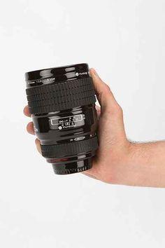 ceramic camera lens mug
