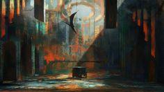 Demonic favor, Rostislav Zagornov on ArtStation at https://www.artstation.com/artwork/demonic-favor