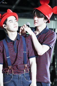 EXO'luXion 150801 : Peter Pan - When Sehun froze time ft. Suho (1/2)